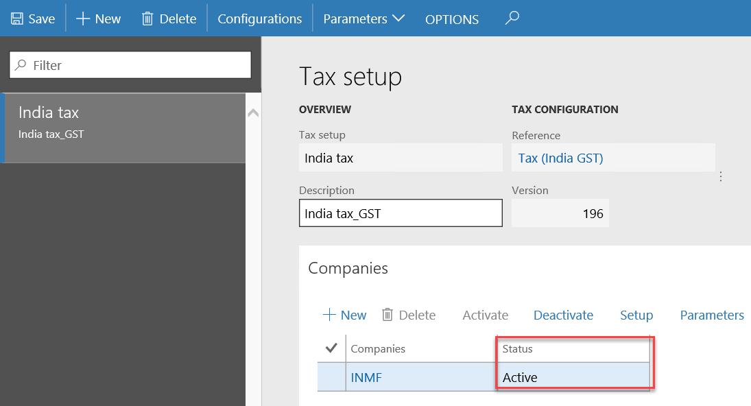 India GST - Finance & Operations | Dynamics 365 | #MSDyn365FO ...