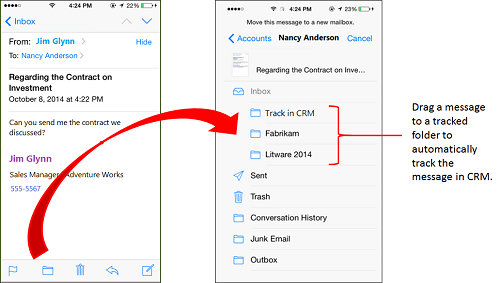 how to delete email from history in outlook 365