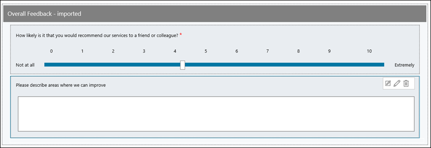 design a basic survey by using voice of the customer