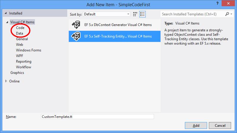 Designer Vorlagen Fr Die Codegenerierung Ef6 Microsoft Docs