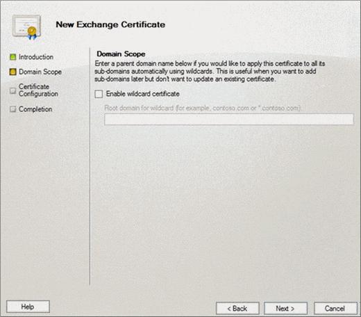 Fügen Sie ein SSL-Zertifikat auf Exchange 2010 | Microsoft Docs