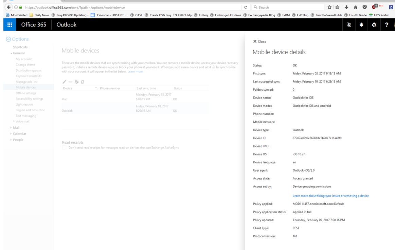Outlook für iOS und Android in Exchange Online FAQ | Microsoft Docs