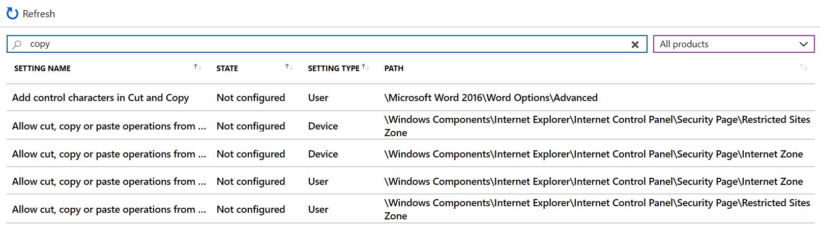 Verwendung Von Vorlagen Für Windows 10 Geräte In Microsoft Intune