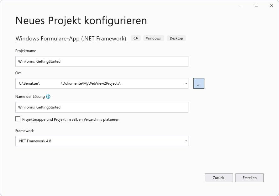 Erste Schritte mit WebView20 in WinForms Apps   Microsoft Edge ...