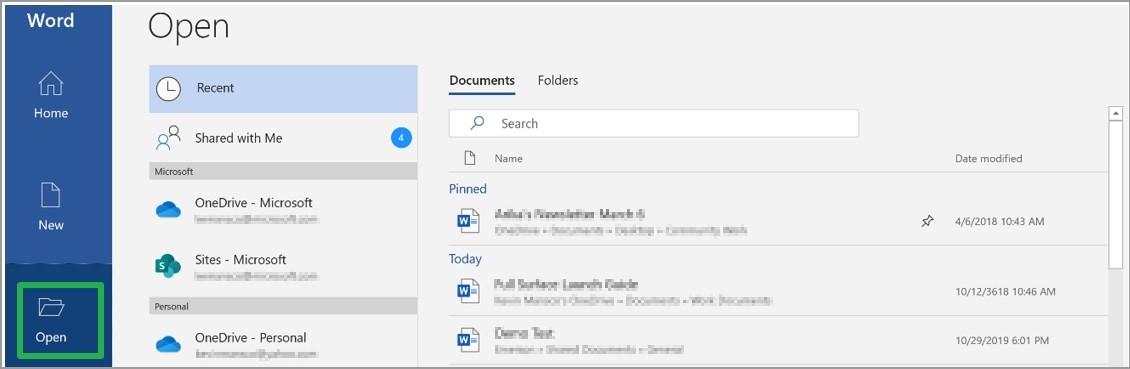 Beim Öffnen eines Office Dokuments werden Fehlermeldungen