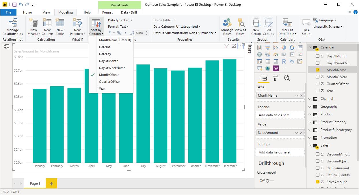 Sortieren nach Spalten in Power BI Desktop - Power BI | Microsoft Docs