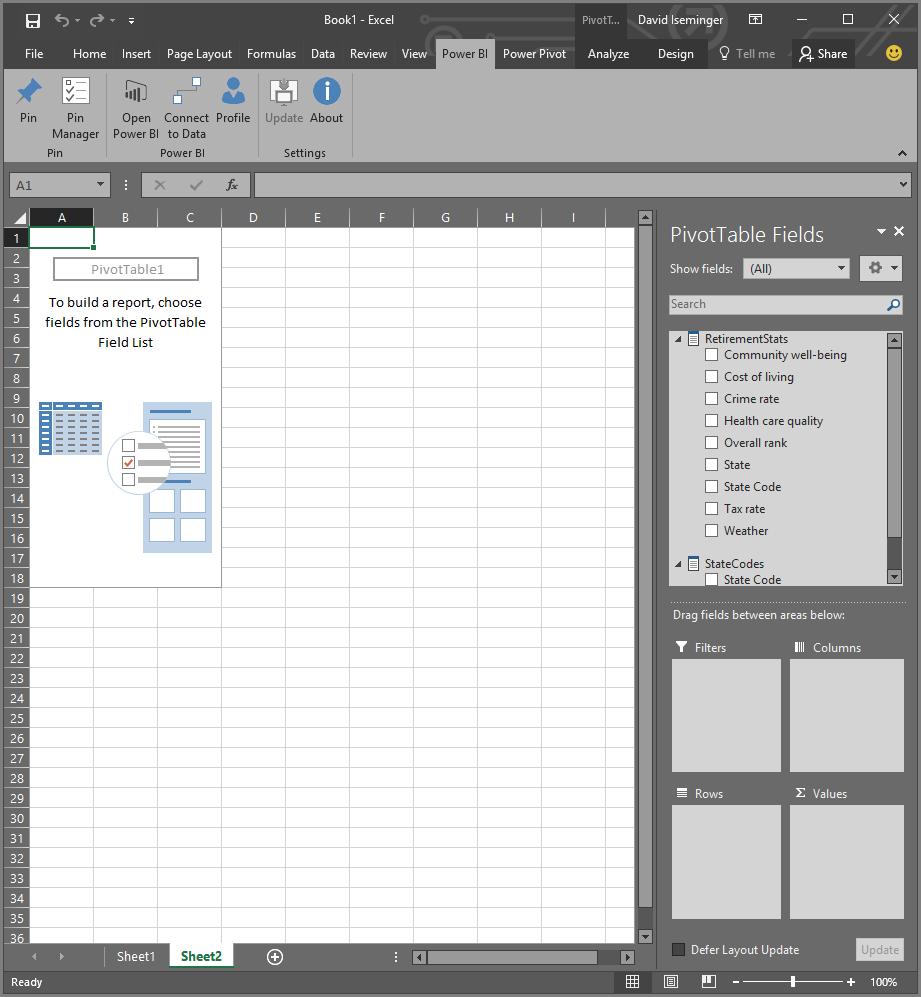 Power BI Publisher für Excel - Power BI | Microsoft Docs