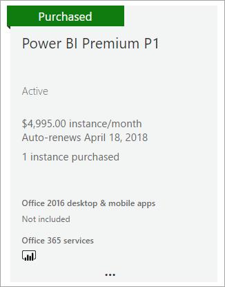 Erwerben Von Power Bi Premium Power Bi Microsoft Docs