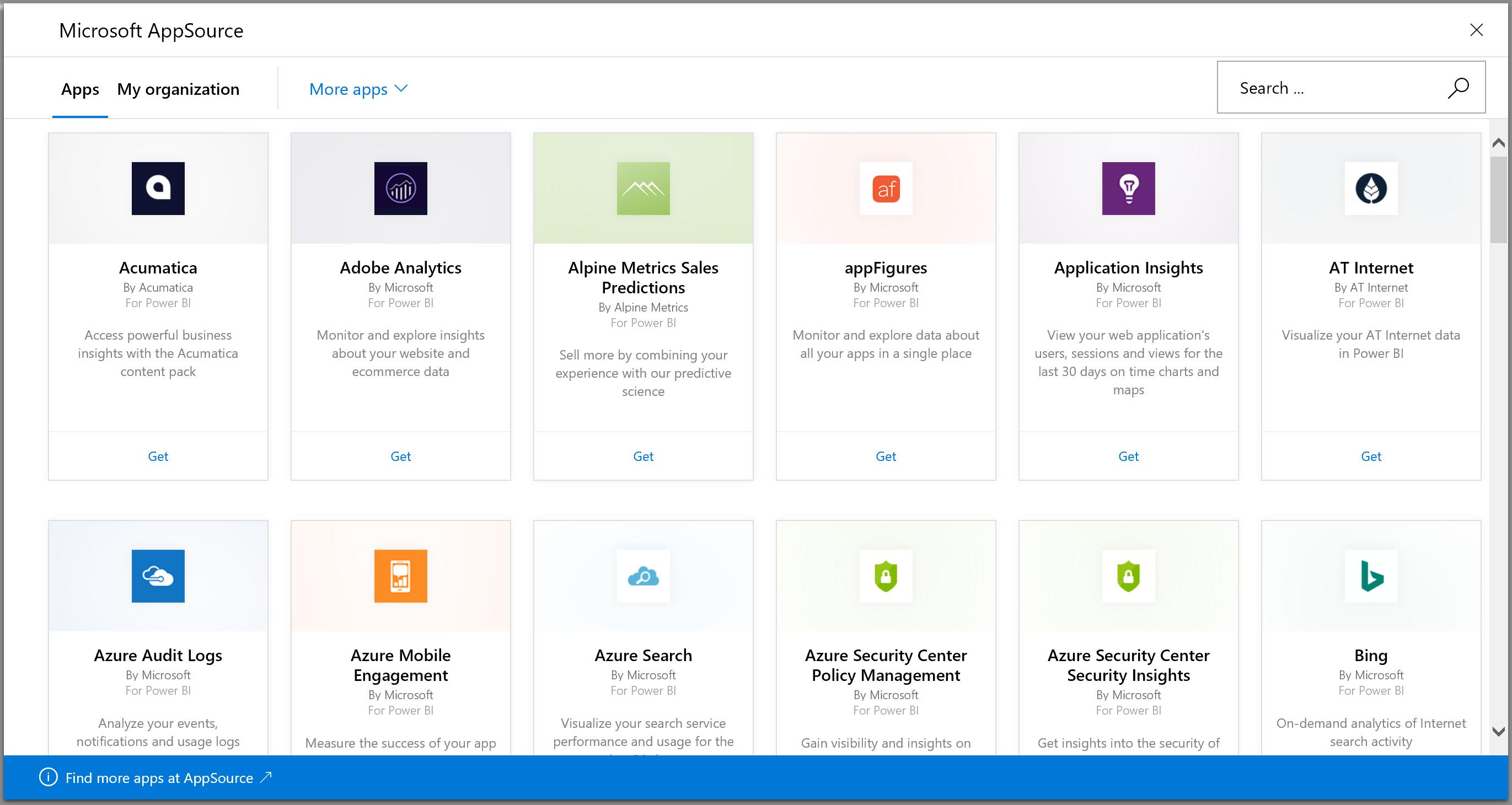 neue Verbindungs-Apps