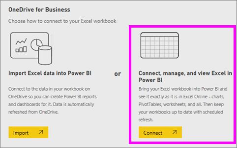 Anheften einer Kachel an ein Power BI-Dashboard aus Excel - Power BI ...