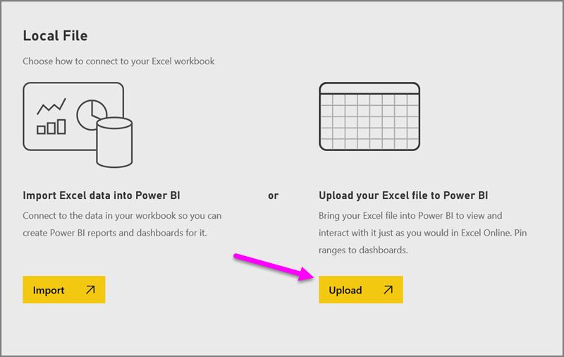 Abrufen von Daten aus Excel-Arbeitsmappendateien - Power BI ...