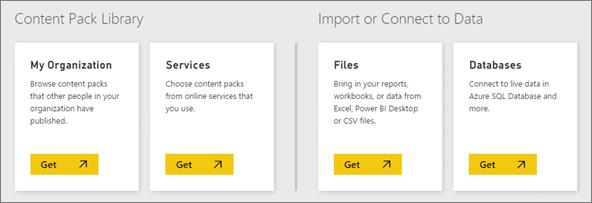 Datenquellen für Power BI - Power BI | Microsoft Docs