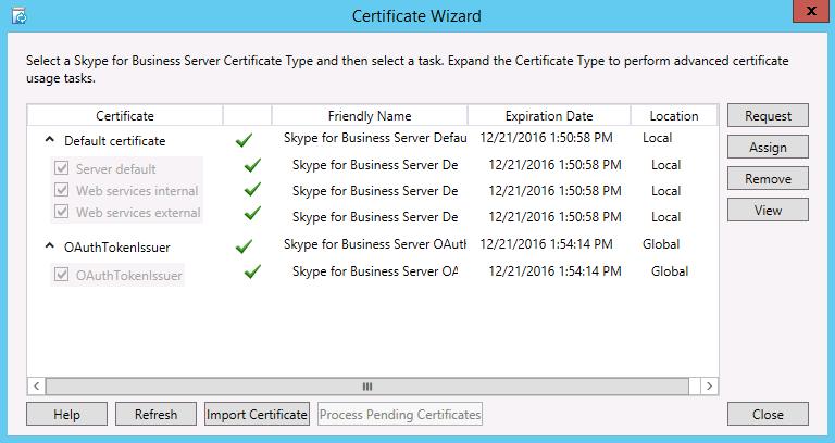 Installieren von Skype for Business Server auf Servern in der ...