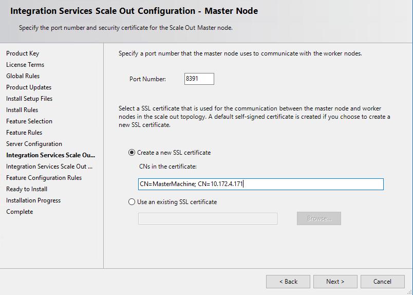 Verwalten von Zertifikaten für SQL Server Integration Services Scale ...
