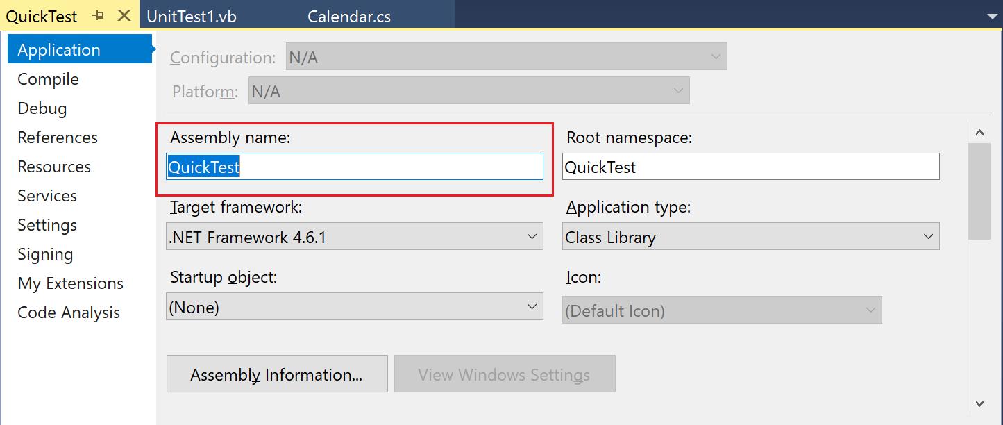 Einführung in Projekte und Projektmappen in Visual Studio ...