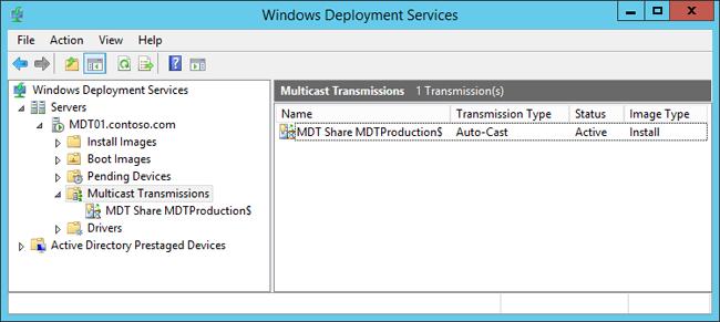 Bereitstellen eines Windows10-Images mit MDT(Windows 10