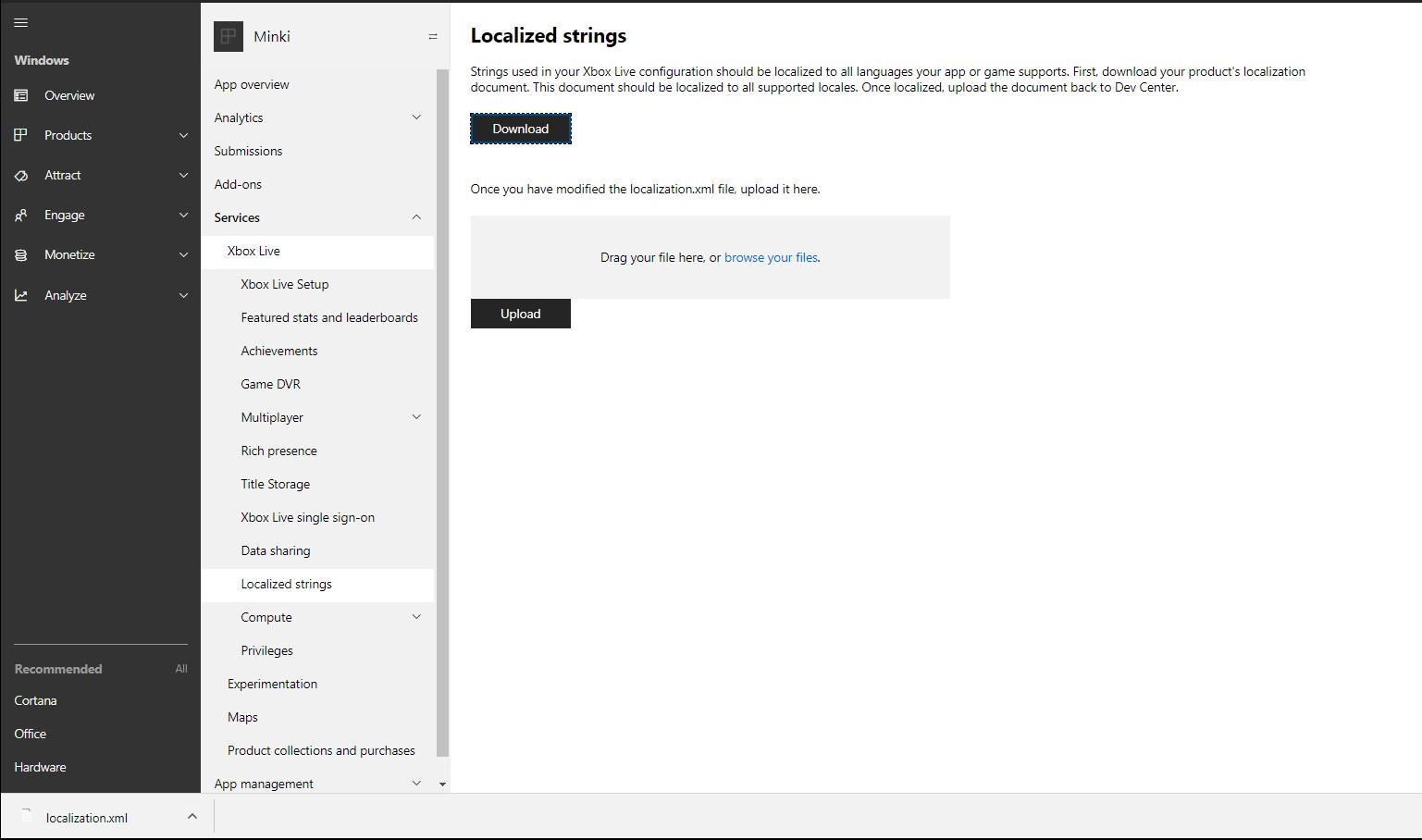 Localized strings - UWP app developer | Microsoft Docs
