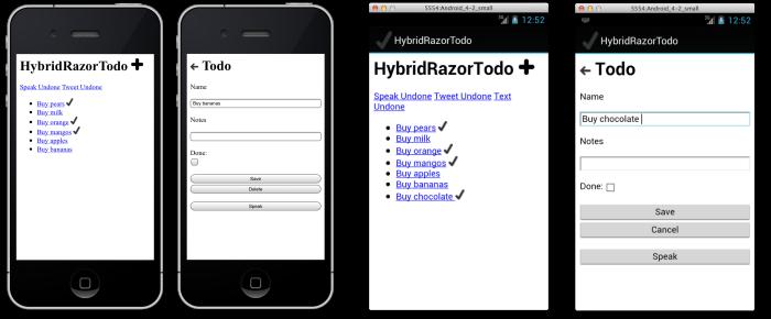 Erstellen von HTML-Ansichten mit Razor-Vorlagen - Xamarin ...