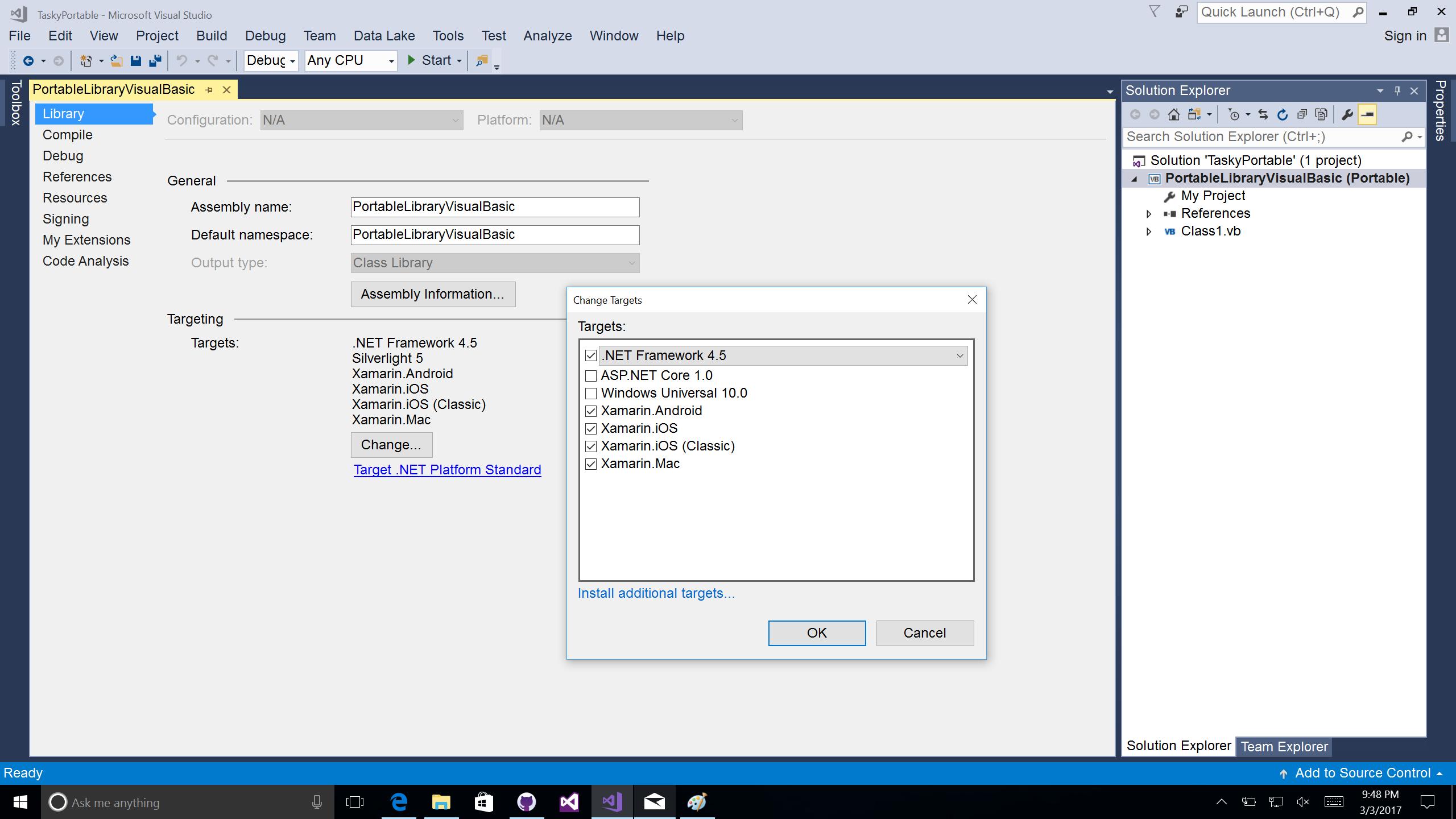 Portable Visual Basic.NET - Xamarin | Microsoft Docs