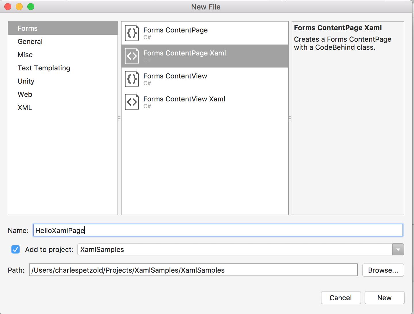 Teil 1. Erste Schritte mit XAML - Xamarin   Microsoft Docs