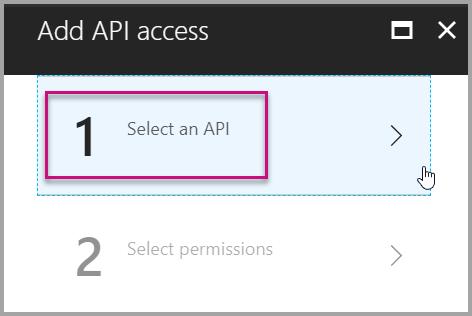 Add API Access