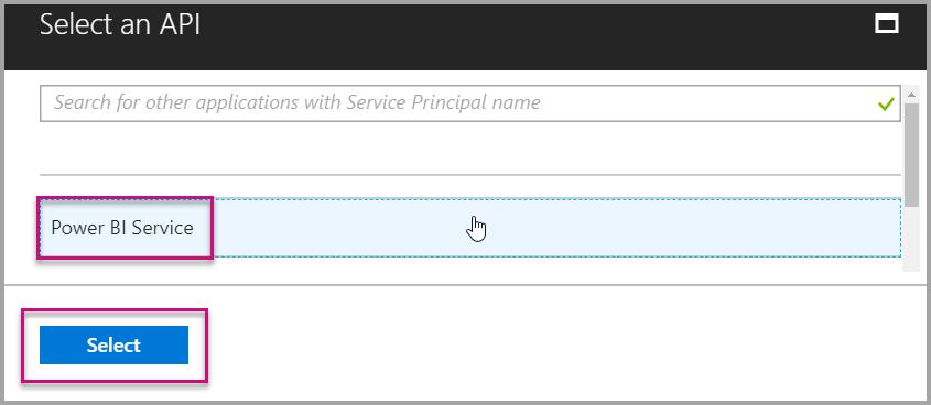 Select PBI Services