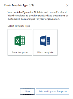 create and deploy excel templates dynamics 365 for marketing