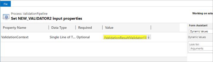 The Validator2 step