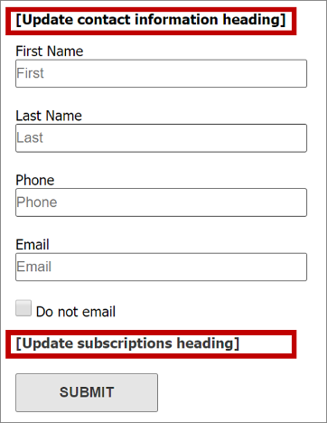 Set Up A Subscription Centre Dynamics 365 For Marketing