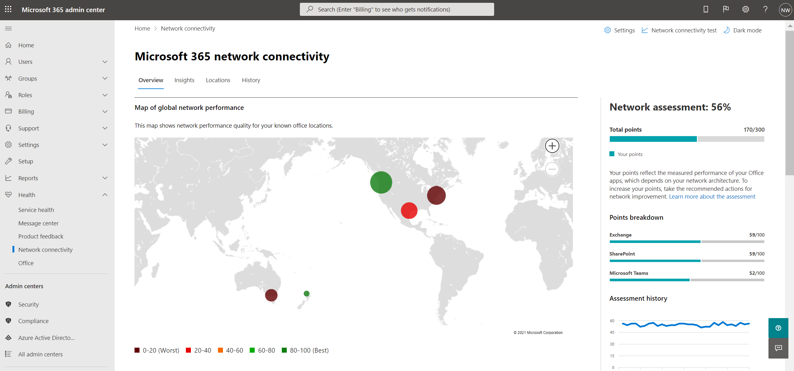 Network connectivity test tool