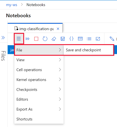 How to run Jupyter Notebooks in your workspace - Azure Machine Learning   Microsoft Docs