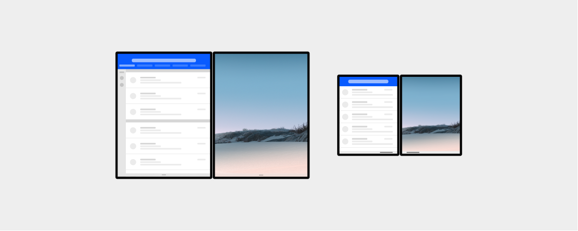 an app on each screen