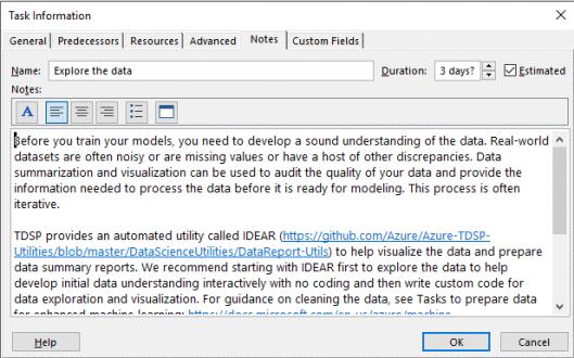 Team Data Science Process Project Planning Azure Microsoft Docs