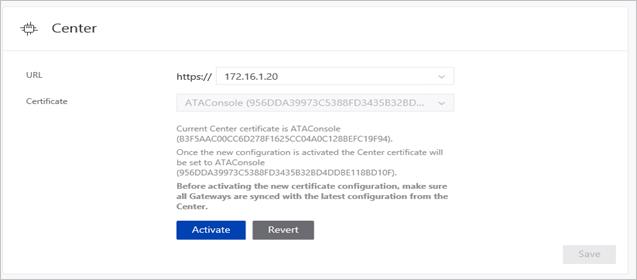 Change Advanced Threat Analytics ATA Center config | Microsoft Docs