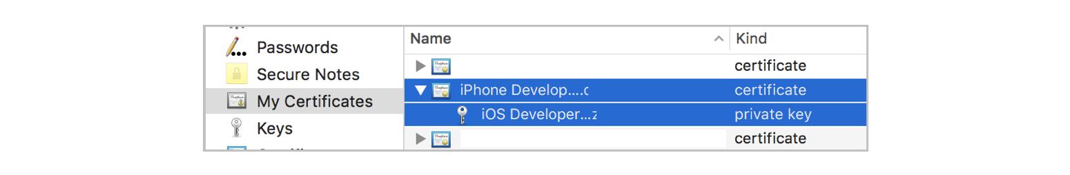Uploading iOS Code Signing Files in App Center - Visual Studio App