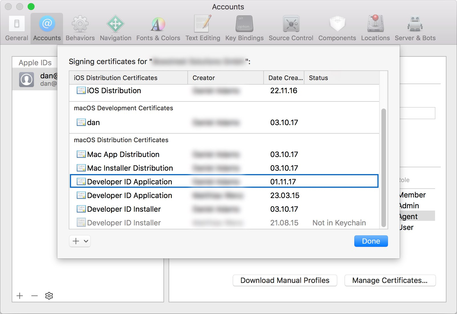 Uploading Mac Code Signing Files In App Center Visual Studio App