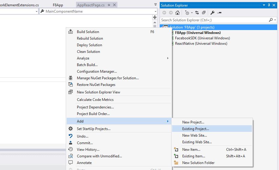 Using the React Native SDK with CodePush - Visual Studio App Center