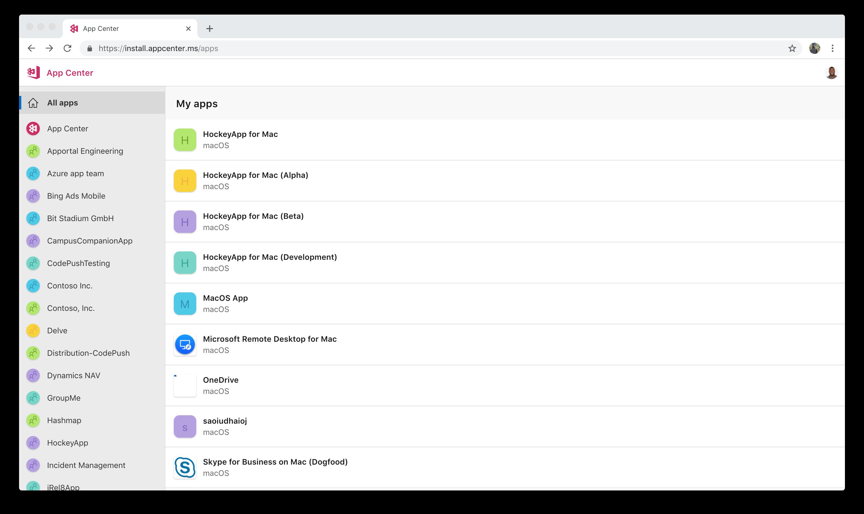 Testing macOS Apps - Visual Studio App Center | Microsoft Docs
