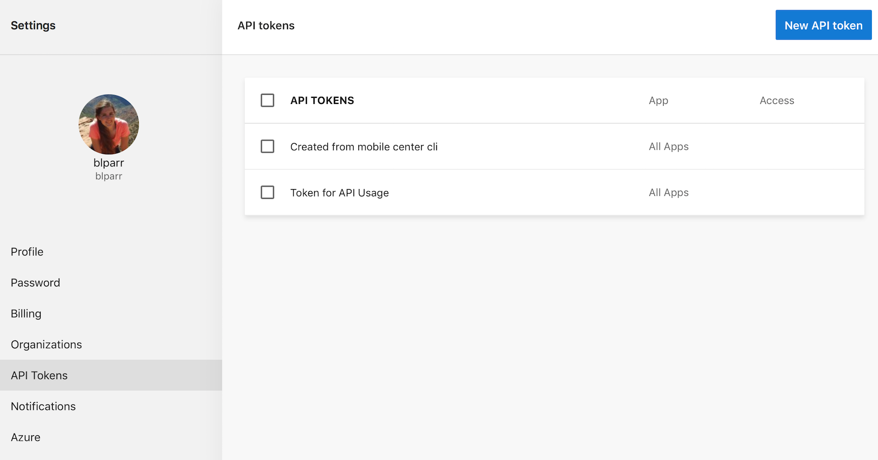Using the Push API - Visual Studio App Center | Microsoft Docs