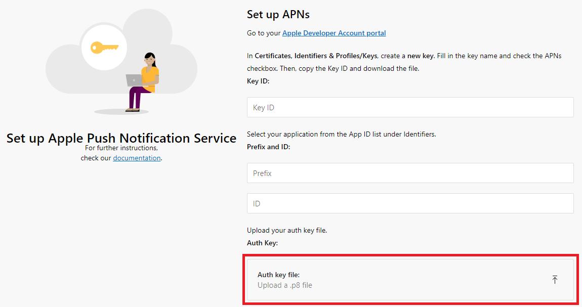 App Center Push for React Native iOS - Visual Studio App