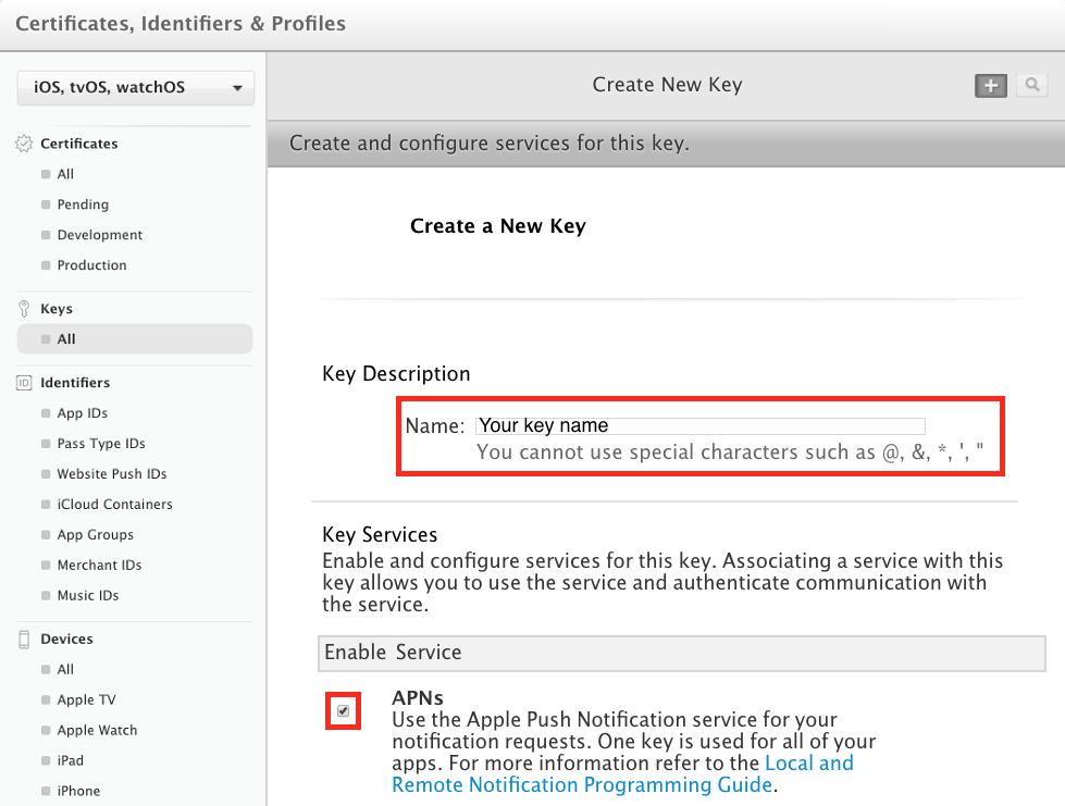 App Center Push for React Native iOS - Visual Studio App Center