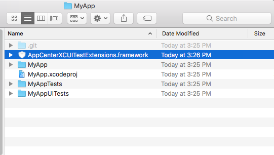 Preparing XCUITest Tests for Upload with App Center
