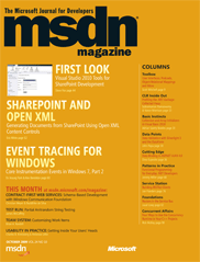 October 2009 issue
