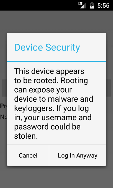 Security - Detect and Respond to Rooted Android Devices from