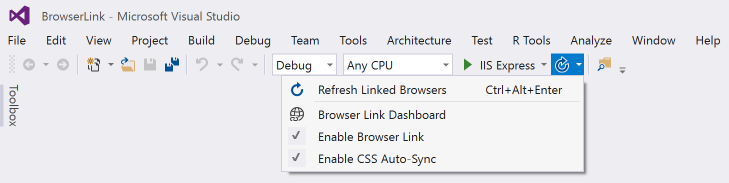 Browser Link in ASP NET Core | Microsoft Docs