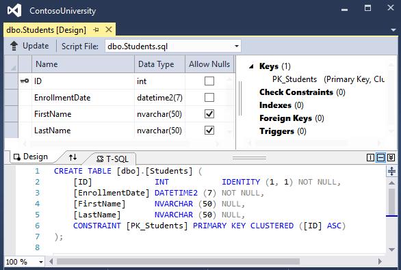 Tutorial: Create a complex data model - ASP NET MVC with EF