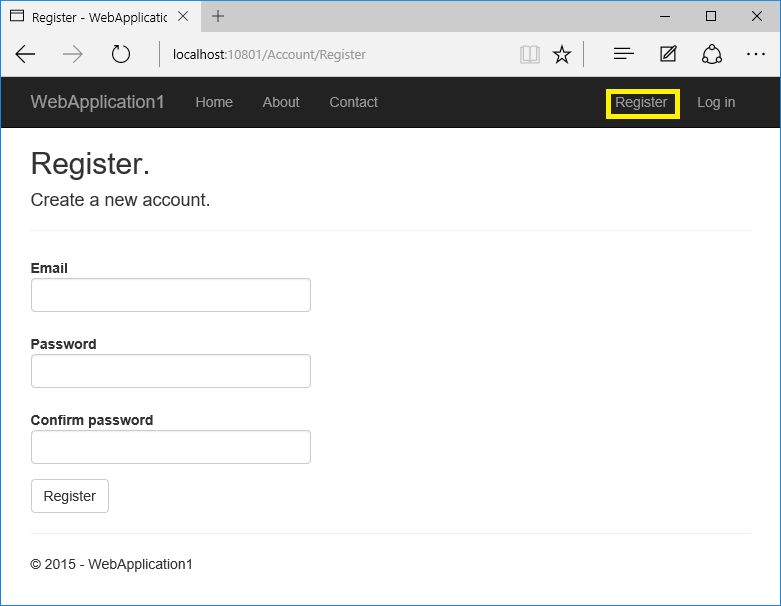 Account Confirmation And Password Recovery In Aspnet Core