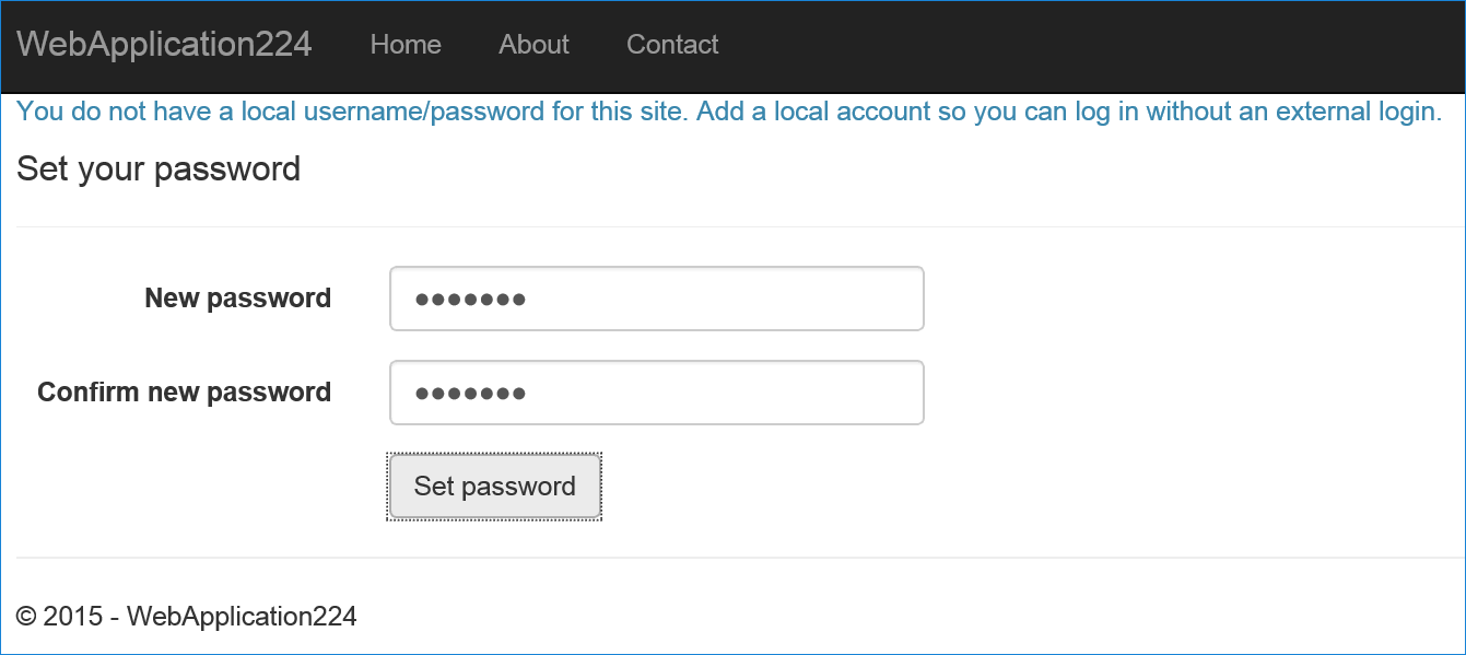 Facebook, Google, and external provider authentication in ASP NET