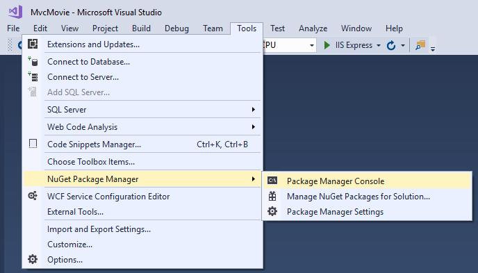 Adding a model to an ASP NET Core MVC app | ASP NET Core