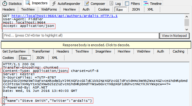 Format response data in ASP NET Core Web API | Microsoft Docs